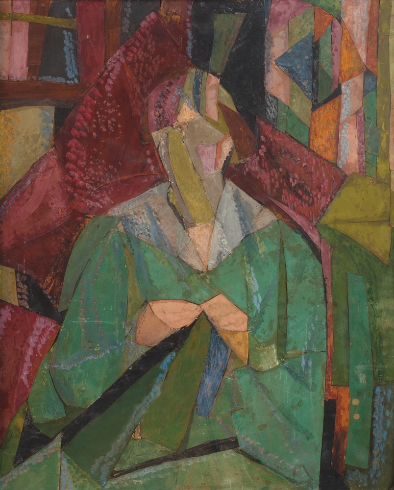 Vanessa Bell, Portrait of Molly MacCarthy, 1914