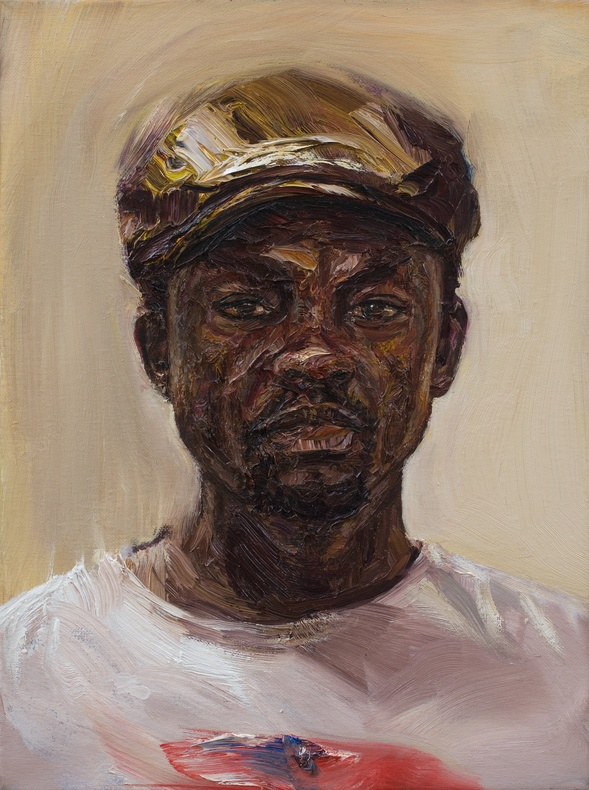 Edward Ofusu, Self Portrait in Silence, 2016