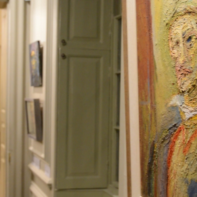 The Ruth Borchard Collection in the Queen Anne townhouse of Pallant House Gallery, Chichester.