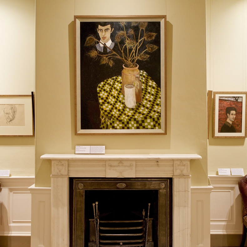 British Self Portraits: Highlights from the Ruth Borchard Collection installed in Pallant House's Queen Anne town house