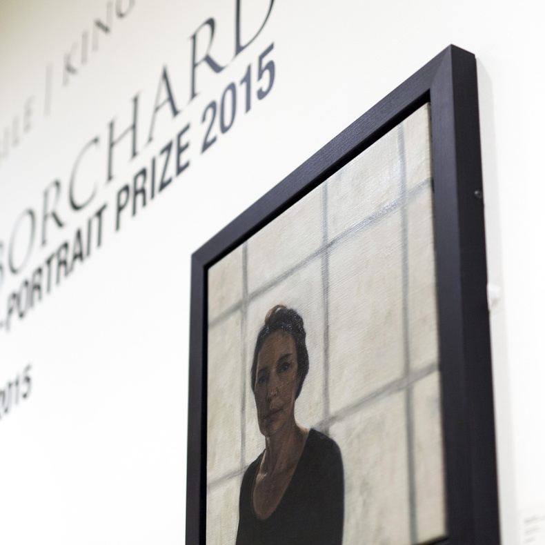 Ruth Borchard Self-Portrait Prize 2015, running until 9 October